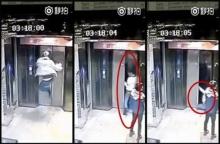 เจ็บนี้อีกนาน... !! หนุ่มเมาเดือด โชว์เก๋าโดดถีบ ประตูลิฟต์ เจ๊ง! ก่อนพลัดร่วงตึก 4 ชั้น