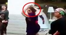 คนสมัยนี้ใจร้าย!! สาวปะทะเดือดหนุ่ม ก่อนคว้าตัวเด็กเล็กยกฟาดอย่างรุนแรง!! (คลิป)