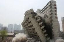 อุบัติเหตุตึกถล่มในจีน