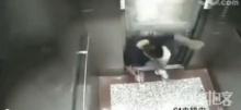 แค่เห็นก็สะดุ้ง ! นาทีชีวิต ชายหนุ่มโดนลิฟท์ทับ