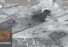ก.กลาโหมสหรัฐ เผยภาพการโจมตีทางอากาศในอิรัก