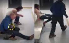 เปิดนาทีนักโทษชาย สลัดกุญแจมือหลุดภายใน 15 วินาที เดินหนีตำรวจชิลๆ (คลิป)
