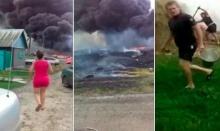 สื่อนอกเผยคลิปใหม่วินาทีหลัง MH17 ตก