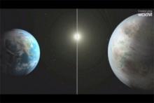 ตื่นเต้น!!นาซาพบดาวคู่แฝดโลก ใหญ่กว่า60%-ระบุอาจมีสิ่งมีชีวิต (ชมคลิป)