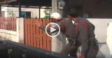 ไม่ยอมจำนน! วินาที #พ่อค้ายายิงขมับตัวเอง ขณะถูกล้อมจับ