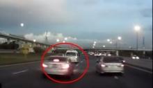 ประมาทเป็นเหตุ!!! รถเก๋งซิ่งชนรถตู้เสียหลัก คนขับรถตู้เสียชีวิต 1 ราย!!!