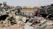 ซากเครื่องบินรัสเซีย ที่ตกผู้โดยสารเสียชีวิต 224 คน