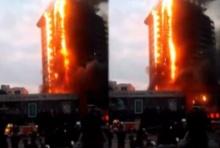 เขย่าขวัญหนัก!! ไฟไหม้ โรงแรมจีน จนท. ใช้เวลา 2 ชม. ควบคุมเพลิงได้!!