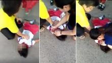 คลิปนาทีชีวิต ปั๊มหัวใจ-ผายปอดยื้อชีวิตเด็กโดนรถชน