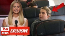 เปิดคลิป ลูกสาว โดนัลด์ ทรัมป์ เจอด่า กลางเครื่องบิน!!