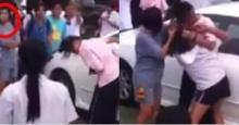 อย่าไปตบตรงนั้น มันโดนรถเค้า คลิปนักเรียนตบกัน แม่ไม่ห้ามแถมเป็นกรรมการยืนมองเฉย