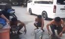 แชร์ว่อนเน็ต คลิปนายจ้างให้ลูกน้องใช้น้ำมันบ้วนปาก ลงโทษที่แอบเอาไปขาย