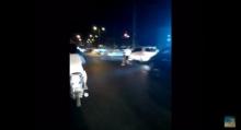 ป้าวิ่งจะให้ รถชน กลางสี่แยก พนัส ชลบุรี