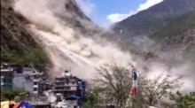 นาทีหายนะ!! ภูเขาถล่มครืน หลังแผ่นดินไหว เนปาล ยอดดับล่าสุด 39 ศพ!!