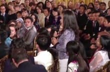 โอบามาผู้นำสหรัฐทึ่งเจอเด็กไทยถาม ถ้าเป็นชาวโรฮีนจาจะอพยพไปอยู่ประเทศไหน???