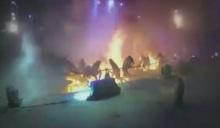 เปิดคลิปล่าสุด ถ่ายจากบนเวที เหตุปาร์ตี้สยองระเบิดไฟที่สวนสนุก