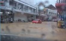 รวมคลิปเหตุการณ์น้ำท่วมระยอง 2558