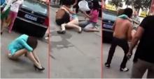 แชร์สนั่น! เมียหลวงและลูกสาวสุดแค้น ช่วยกันรุมทำร้ายเมียน้อยกลางถนน ต่อหน้าชาวบ้านนับสิบ