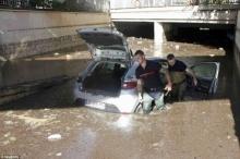 พายุฝนถล่มคานส์...ทั้งเมืองกลายเป็นแม่น้ำ