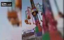 วินาทีระทึก!! เครื่องเล่นในสวน (ไม่) สนุกขัดข้อง เด็กหล่นกระแทกพื้น!! (คลิป)
