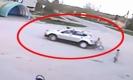อุทาหรณ์!!เด็กขี่จักรยานเล่นถูกรถถอยทับ คนขับรีบซิ่งหนี