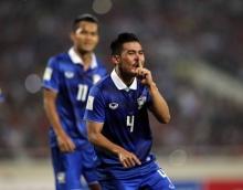 สวยสุด!! ลูกยิงของ ก้อง เกริกฤทธิ์ ฟุตบอลไทย 3-0 เวียดนาม
