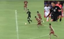 ชม ธีรศิลป์ ทำชิ่งกับ สรรวัชญ์ ก่อนหลุดเดี่ยวไปยิงแบบเหนือชั้น ให้ไทยขึ้นนำ 2-0