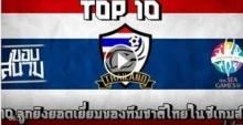 10 ลูกยิงยอดเยี่ยมของทีมชาติไทยในซีเกมส์ครั้งที่ 28