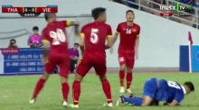 ควันหลงคัดบอลโลก! รวมช็อตเจ็บๆ!ของ นักเตะไทย พี่เวียด จะมาเตะบอล หรือ มาเตะคน