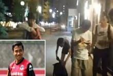 อึ้งเลย!! มาชมปฏิกิริยา แฟนบอลญี่ปุ่น เดินถนนอยู่ดีๆ เจอ เจ ชนาธิป ซะงั้น