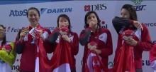 ทั้งอึ้ง! ทั้งซึ้ง กับคลิป เพลงชาติ ขณะ รับเหรียญกีฬาซีเกมส์ กีฬา ว่ายน้ำ ของ สิงคโปร์