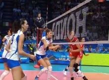 วอลเลย์บอล จีน ชนะ อิตาลี 3-1 เซต วอลเลย์บอลหญิงชิงแชมป์โลก 2014