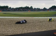 ล้มตามกันเป็นแถว สำหรับการแข่งขัน MotoGP