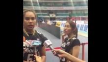 ห้ามพลาดช็อตเด็ด นุศรา ต้อมคำ นักวอลเลย์บอลหญิง ทีมชาติไทย #เป็นคนตลก