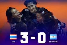 ชมย้อนหลัง ตบสาวไทย ทิ้งทวนอัด อาร์เจนตินา 3-0 ศึกเนชั่นส์ลีก (คลิป)