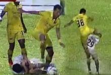 จังหวะเดือดเกม อุบล ยูเอ็มที และ อ่างทองเอฟซี เตะคนไม่ได้เตะบอล