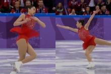 """ดาวล้านดวง!""""หมุนตัว 3 รอบ""""ในการแข่งโอลิมปิก ประวัติศาสตร์จารึก!(คลิป)"""