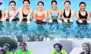โมเม้นท์คิ้วท์ๆของเหล่าตบสาวไทย อวดเซ็กซี่กลางสระว่ายน้ำ(คลิป)