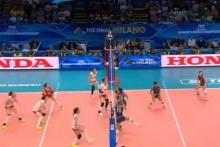 วอลเลย์บอล อเมริกา ชนะ จีน 3-1 เซต วอลเลย์บอลหญิงชิงแชมป์โลก 2014