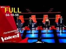 The Voice Thailand Season 4 Full Blind Audition (Week 5) 4 ตุลาคม 58