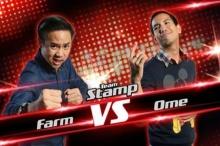 รักแรกพบ - ฟาร์ม VS โอม The Voice Thailand