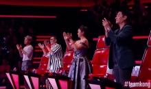 โชว์ตำนานเกิดขึ้นแล้วใน The Voice 4 โค้ชทั้งสี่ยังลุกยืนปรบมือให้!!