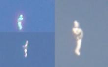 ช็อกไปดิ!!! เจอภาพคล้าย UFO บนท้องฟ้า พร้อมกัน 3 คน และต่างสถานที่