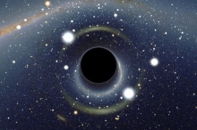 ภาพจำลอง จะเกิดอะไรขึ้นถ้าคุณตกลงไปในหลุมดำ