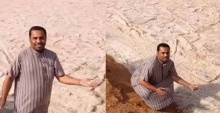 """ธรรมชาติสุดแปลก!! """"แม่น้ำทราย"""" แปลกแต่ก็สวยไปอีกแบบ!!"""
