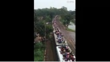 รถไฟขบวนนี้ บรรทุกผู้โดยสารโหดไปมั้ย!!