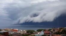 เมฆสึนามิ เหนือน่านฟ้าออสเตรเลีย เหมือนวันอวสานโลกเลย (คลิปน่ากลัวมาก)