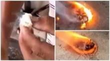 ฮือฮาทั้งหนองคาย! ชาวบ้านพบ วัตถุประหลาด ติดไฟได้ ทำเอาคอหวยแตกตื่น จ้องหาเลขเด็ด