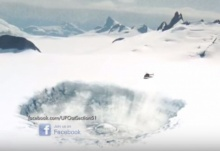 ตะลึง!! พบหลุมขนาดใหญ่ในแอนตาร์กติก แต่ต้องตะลึงยิ่งกว่าเมื่อพบสิ่งนี้ในหลุม