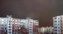 พายุทรายถล่มเบลารุส เปลี่ยนกลางวันเป็นกลางคืน